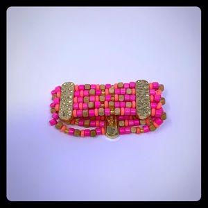 NWT super cute Lilly Pulitzer GWP stretch bracelet